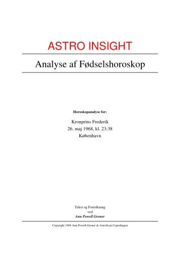 ASTRO INSIGHT - Astrologi og Horoskoper