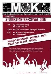 Studiestartsfestival 2007 - MOK
