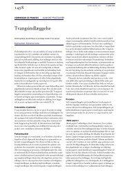 Tvangsindlæggelse - Ugeskrift for Læger