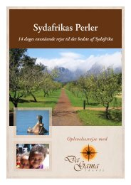 Sydafrikas Perler (BNB %B - DaGama Travel