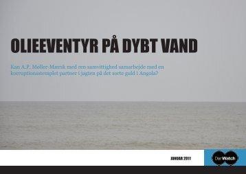 DanWatch rapport: Olieeventyr på dybt vand januar 2011