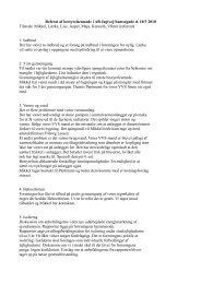Referat af bestyrelsesmøde i AB Jagtvej/Samsøgade d. 10/3 2010 ...