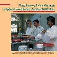 Flygtninge og indvandrere på hospital i Hovedstadens ...