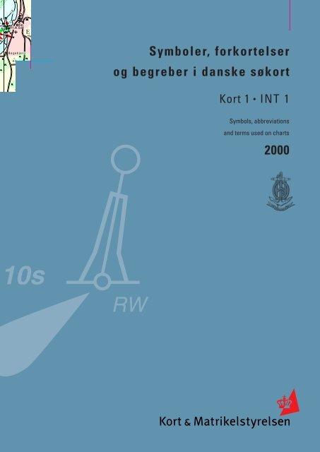Symboler, forkortelser og begreber i danske søkort 2000