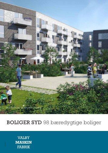 BOLIGER SYD 98 bæredygtige boliger - DFE