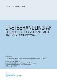 DiætbehanDling af - Foreningen af Kliniske Diætister