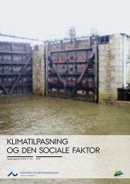 Klimatilpasning og den sociale faktor