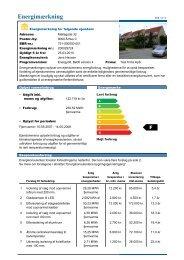 Energimærkning af bygninger