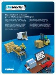 Markedets førende software til print af etiketter ... - Seagull Scientific