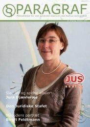 Månedens portræt Birgit Feldtmann Den Juridiske Stafet ... - Paragraf