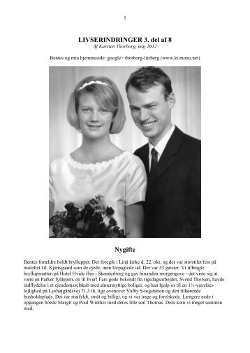 3 Nygifte - Thorborg - Liisberg Hjemmeside - mono.net