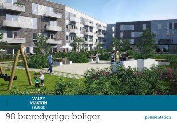 98 bæredygtige boliger - Valby Maskinfabrik