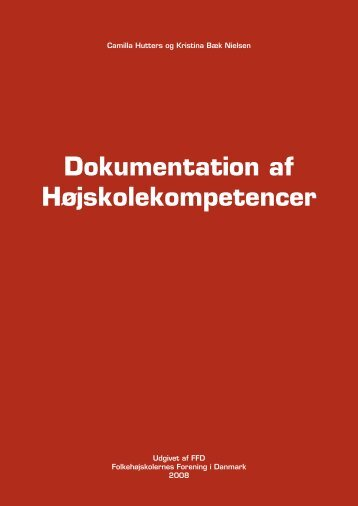 Dokumentation af højskolekompetencer (pdf) - FFD.dk