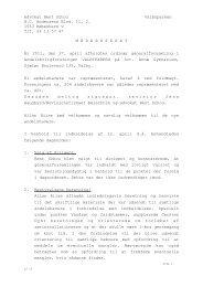 Referat af generalforsamling, d. 27. april 2011 - AB Valbyparken