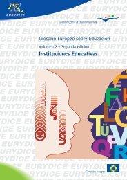 Glosario Europeo sobre Educación