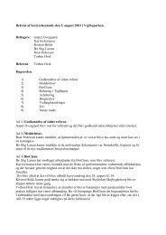 Bestyrelsesmødet den 05/08-2003 - Grundejerforeningen ...