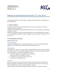 Referat af generalforsamling den 27. maj 2013 - kirstenkimer.dk