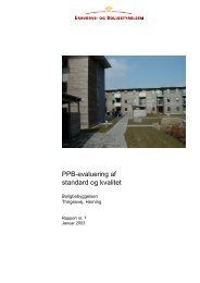 PPB-evaluering af standard og kvalitet - Erhvervsstyrelsen