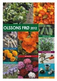 2012 OlssOns Frø - Olssons Frö