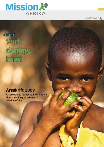 August 2009 - Mission Afrika