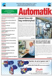 AUTOMATIK 01-2003 - Teknik og Viden
