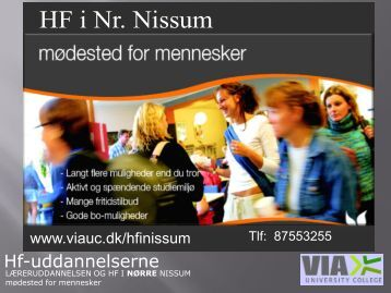 HF i Nr. Nissum - Viggo, Dejbjerglund Efterskole