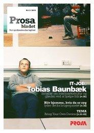 tobias baunbæk - Prosa