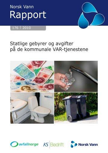 Statlige VAR gebyrer - Avfall Norge - WebSite