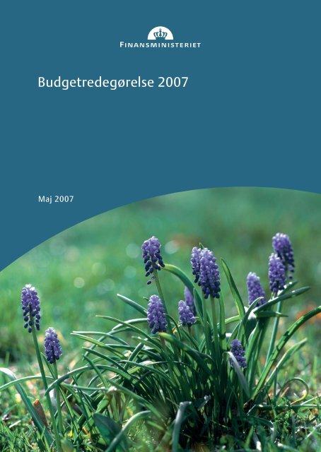 Se budgetredegørelse 2007 - Finansministeriet