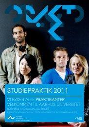 Samlet program, 2011 - Koordinering af Studiepraktik