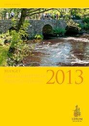 Budget 2013 - Lerums Kommun