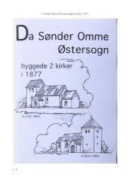 Da Sønder Omme Østersogn byggede 2 kirker i 1877 1 - 27