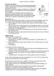Årsplan i dansk i 9.b 2008/09 Generelle mål i dansk I dansk er det ...