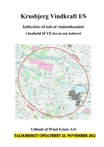 Krusbjerg Vindkraft I/S - krusbjergvindkraft.dk