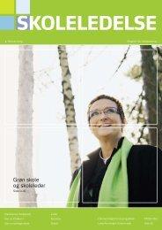 Grøn skole og skoleleder - Skolelederne.org