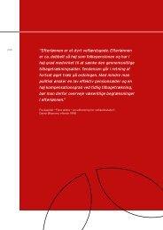 Sundhedsøkonomien og samfundsøkonomien - De Økonomiske Råd