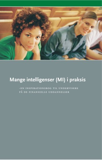 Mange intelligenser (MI) i praksis - Konsulentfirmaet ARGO