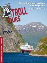 TROLL ExpeditionenSeereisenHurtigruten 2013