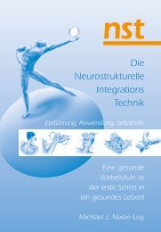 Die Neurostrukturelle Integrations Technik