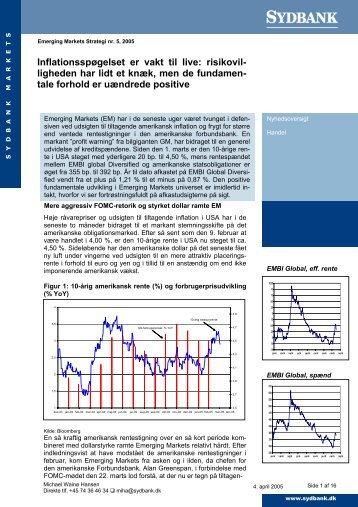 Inflationsspøgelset er vakt til live: risikovil- ligheden har ... - Sydinvest