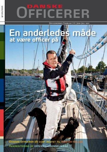 En anderledes måde - Hovedorganisationen af Officerer i Danmark