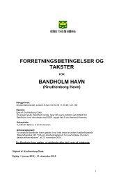 BANDHOLM HAVN - Knuthenborg
