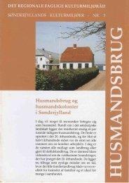Husmandsbrug og husmandskolonier i Sønderjylland - Museum ...