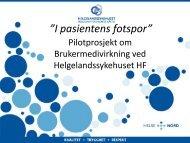 Lederstil og forbedringsarbeid (PDF) - Helse Nord