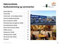 Købmandskab, butiksindretning og varemærker - Emu