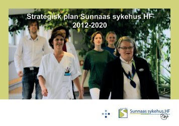 Strategisk plan Sunnaas sykehus HF 2012-2020 (pdf)