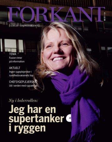 Forkant_2009_04 - Dansk Sygeplejeråd