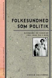 Folkesundhed som politik - Aarhus Universitetsforlag
