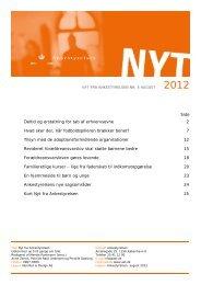 Nyt fra Ankestyrelsen nr. 5 august 2012