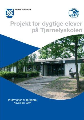 Projekt for dygtige elever nov 2007 - Tjørnelyskolen